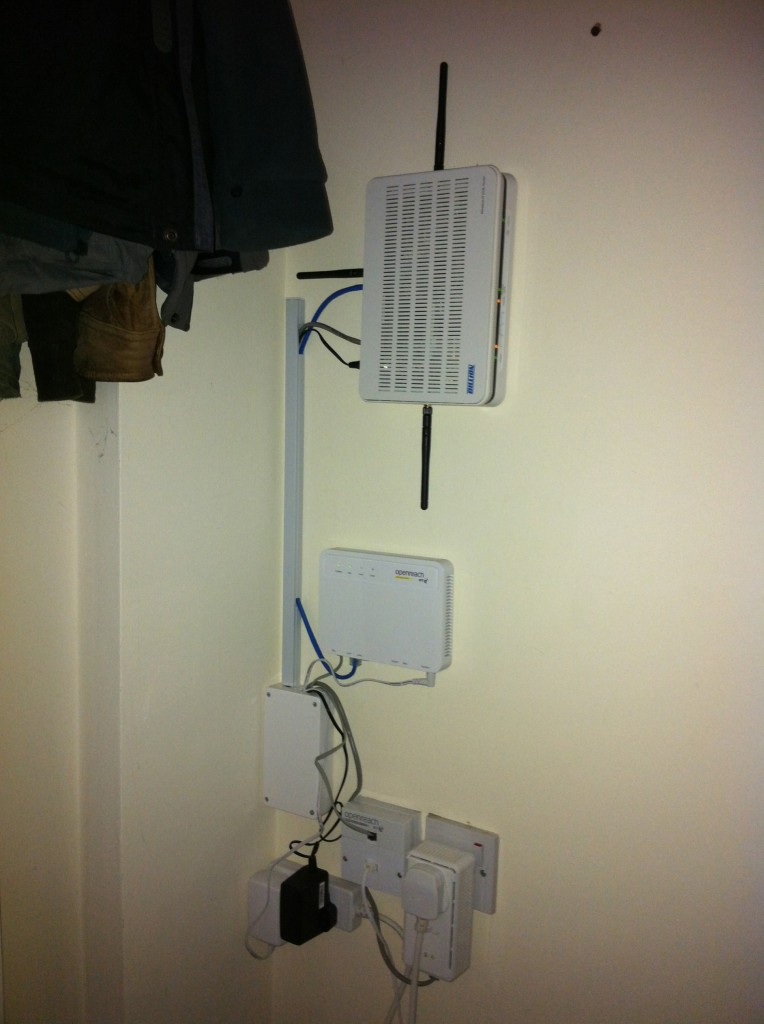 Fibre to the Cabinet networking set-up
