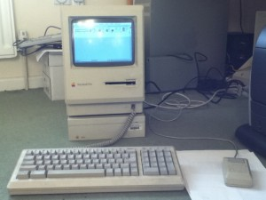 A Mac Plus I rescued.